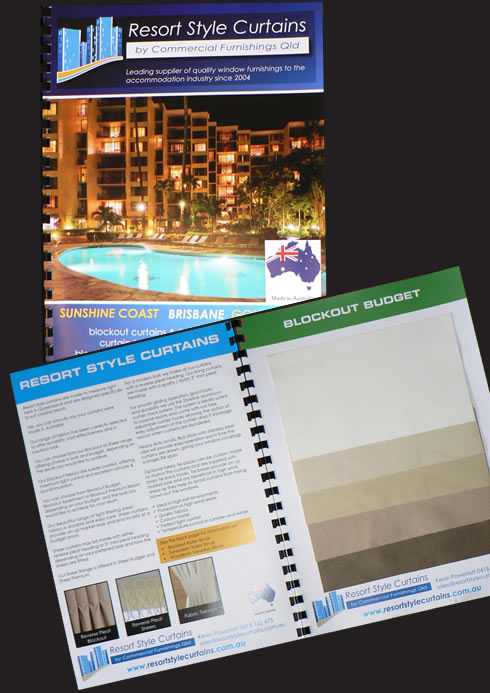 We provide our handy catalogue to resort managers & unit owners at no cost. It's part of the extra special service we provide!